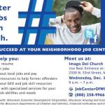 Job Center Access Point at Imago Dei Church on Dec 14
