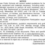 MPS Requesting Quotations for Retaining Wall Replacement at Fernwood Montessori