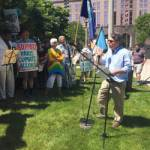 In Earth, We Trust: 350 Milwaukee Protests Paris Agreement Pullout