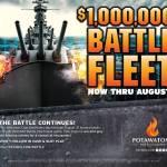 $1,000,000 Battle Fleet Now Through August At Potawatomi Hotel & Casino
