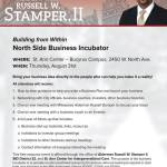 North Side Business Incubator on August 31st