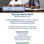 Men's Conference Free Job Seminar on September 19th