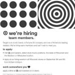 Positions Open: Team Members at Target