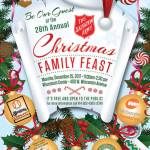Be Our Guest At The 28th Annual Christmas Family Feast