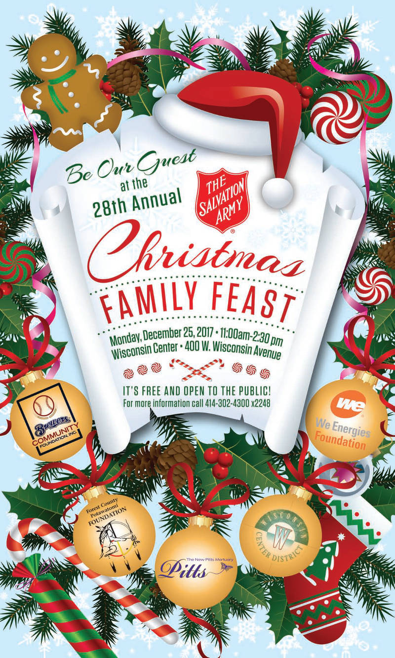 Be Our Guest At The 28th Annual Christmas Family Feast ...