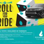 Win a Toyota Highlander on Thursdays in January at Potawatomi