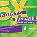 5X Slot Points on Sundays in February at Potawatomi Hotel & Casino