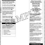 Notice of Spring Primary and Sample Ballots