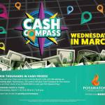 Play Cash Compass Wednesdays in March at Potawatomi Hotel & Casino