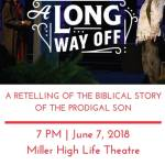 Salvation Army Presents: A Retelling of The Prodigal Son on June 7th