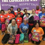 Local AT&T Pioneer Volunteers Donate More Than 1,100 New Backpacks to Milwaukee Students
