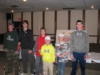 Junior entrants