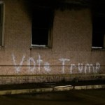 """Mississippi: Black church burned and vandalized with """"Vote Trump"""""""