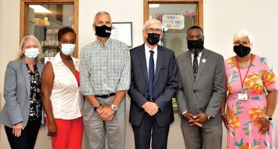 Outreach Community Health Centers host award presentation for Governor Tony Evers and State Senator Lena C. Taylor