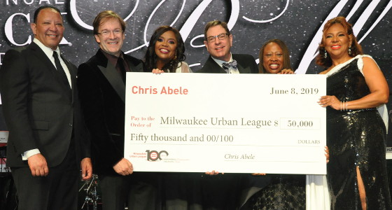 Milwaukee Urban League celebrates 34th Black and White Ball and 100th Anniversary
