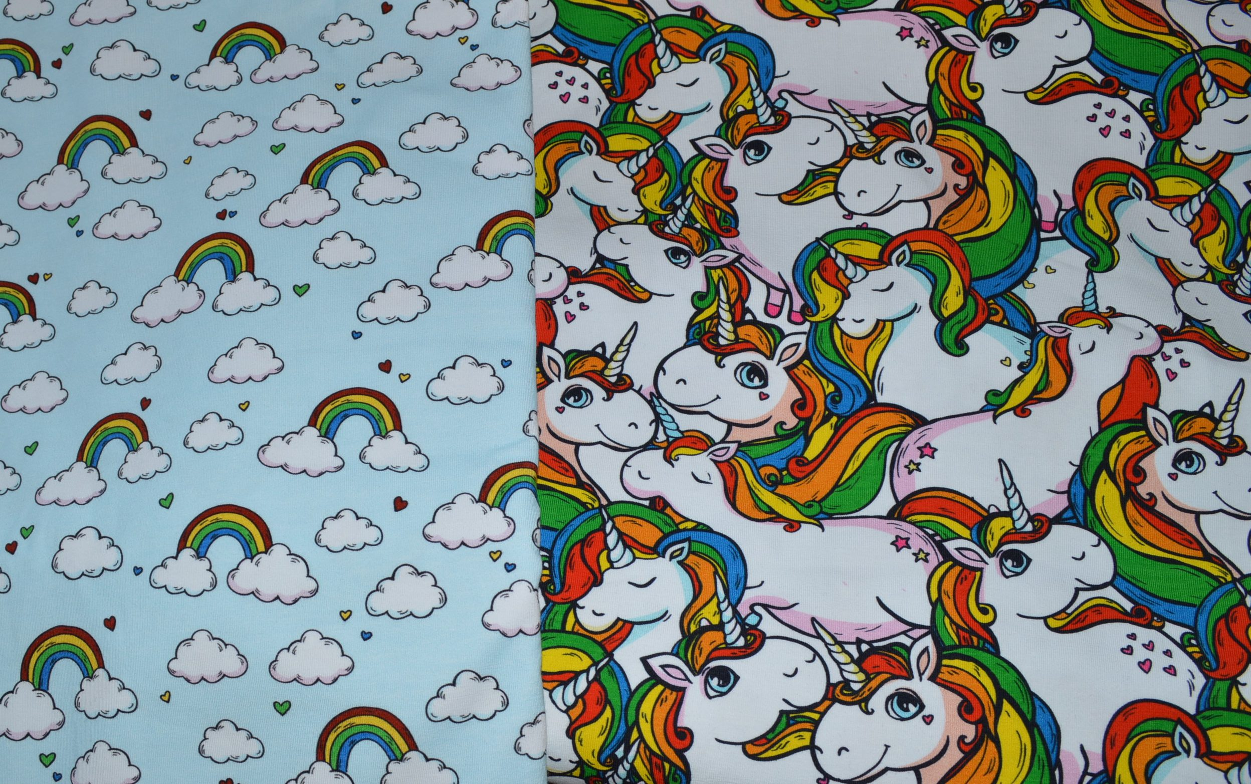 made to order – unicorn print dress, hoodie or romper