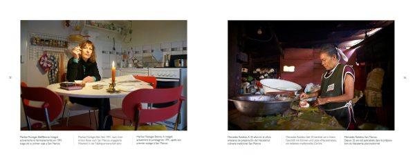 Dos fotografías del libro Liens-Lazos, de Iara Vega-Linhares.