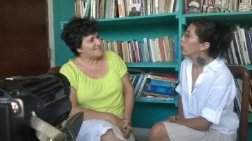 """Mildred Largaespada entrevista a la Dra. Martha Cabrera: """"la verdad es lo que sana"""". Photos by Ximena Largaespada."""