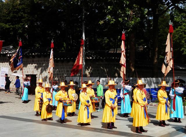 Cambio de Guardia Seul Corea