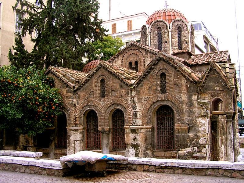 Kapnikarea Atenas