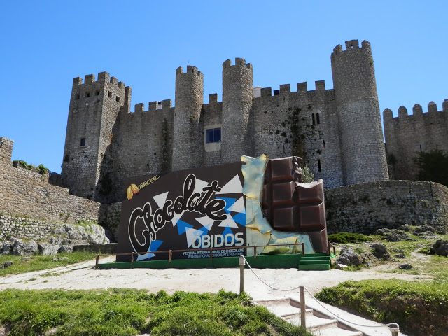 Castillo Obidos Portugal