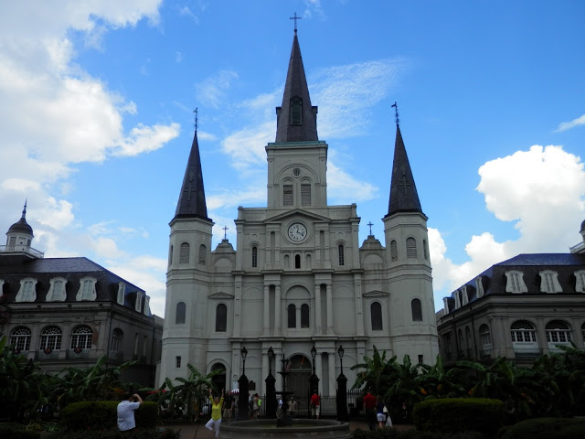 Catedral St. Louis Nueva Orleans