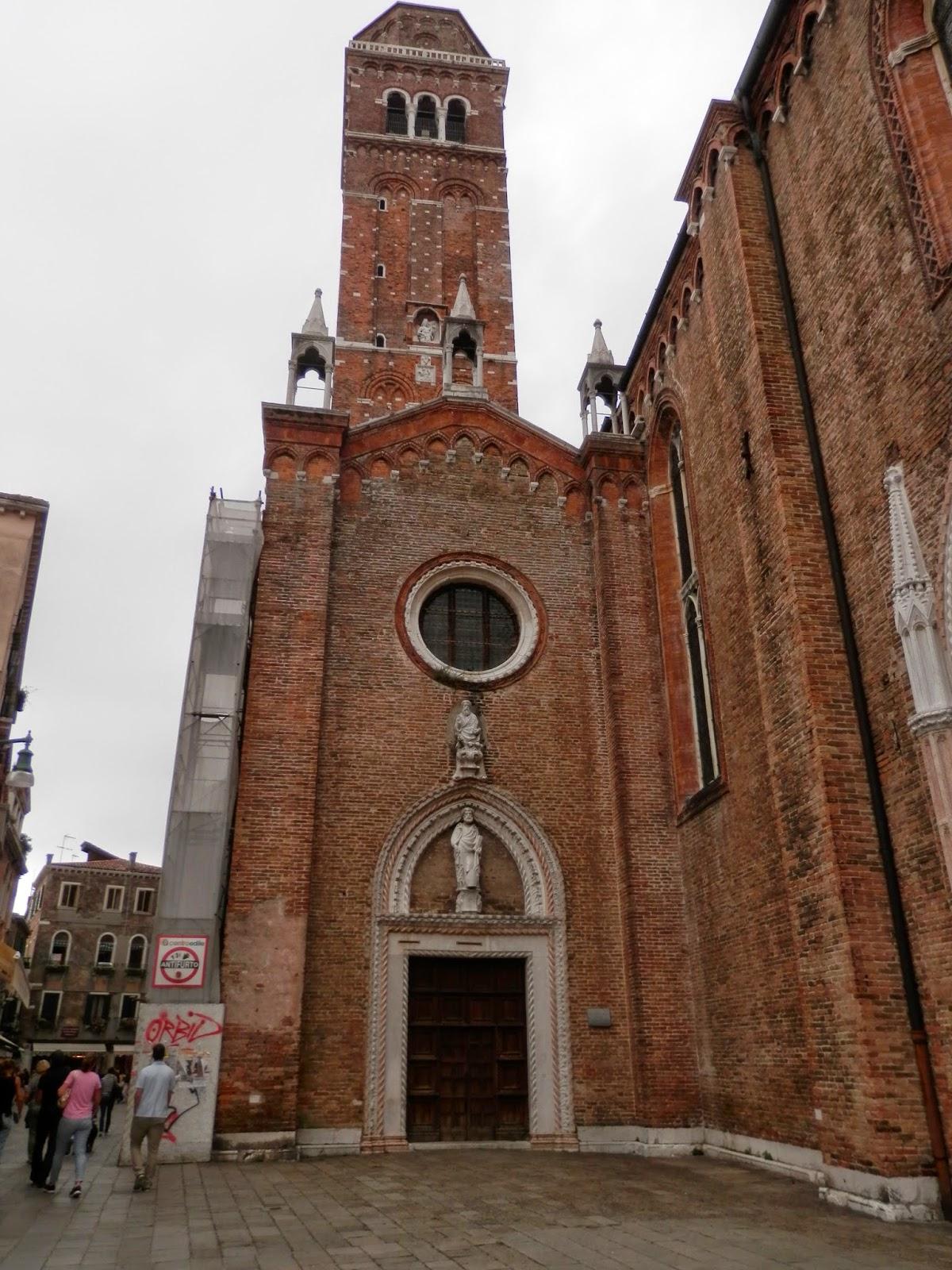 Basílica de Santa María Gloriosa die Frari Venecia