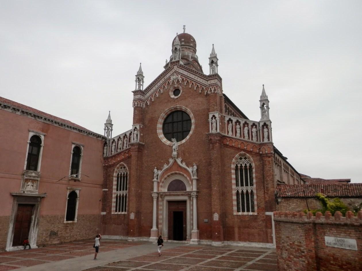 Iglesia de la Madonna dell'Orto Venecia