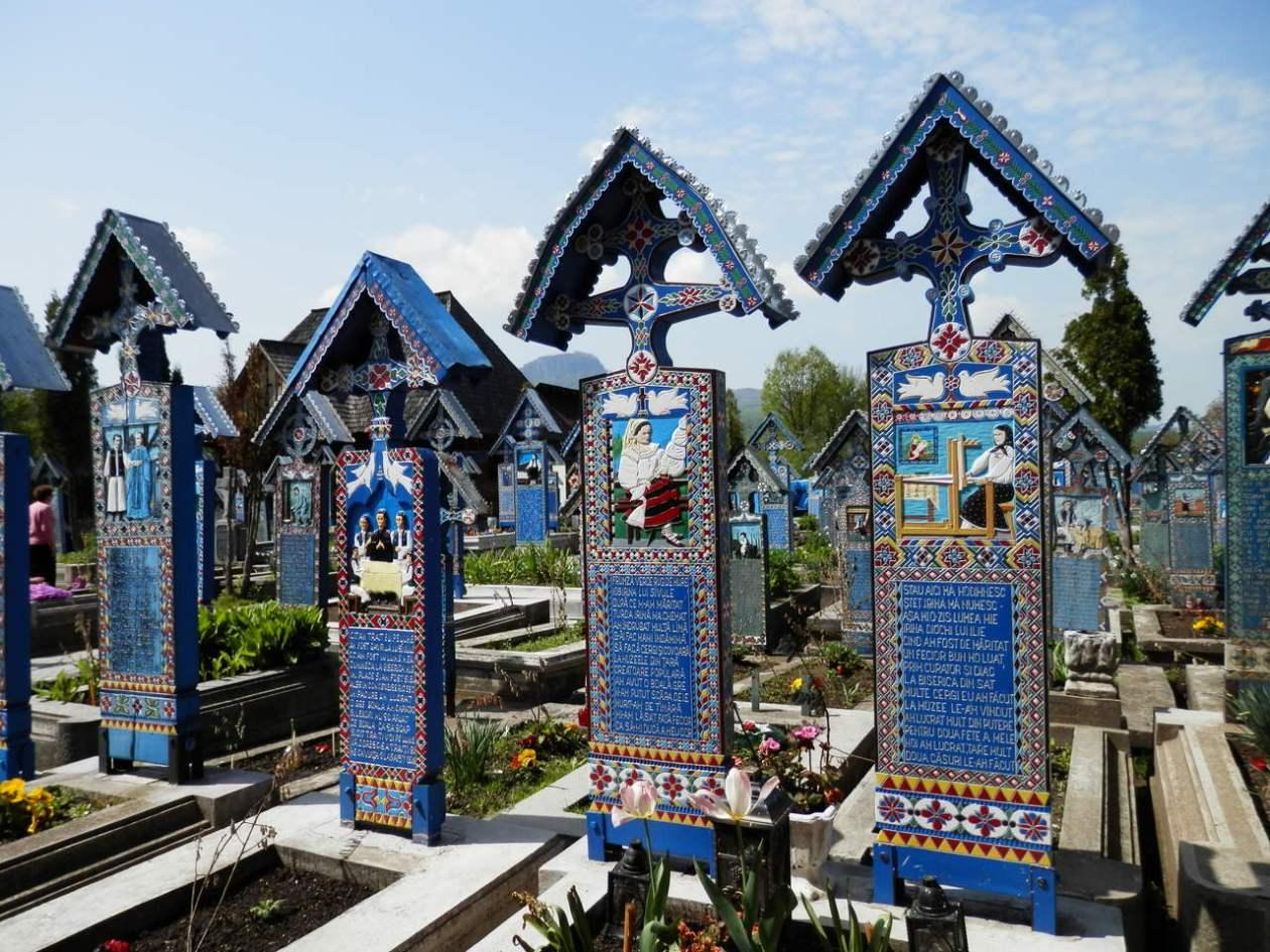 Cementerio Alegre Sapanta Rumania