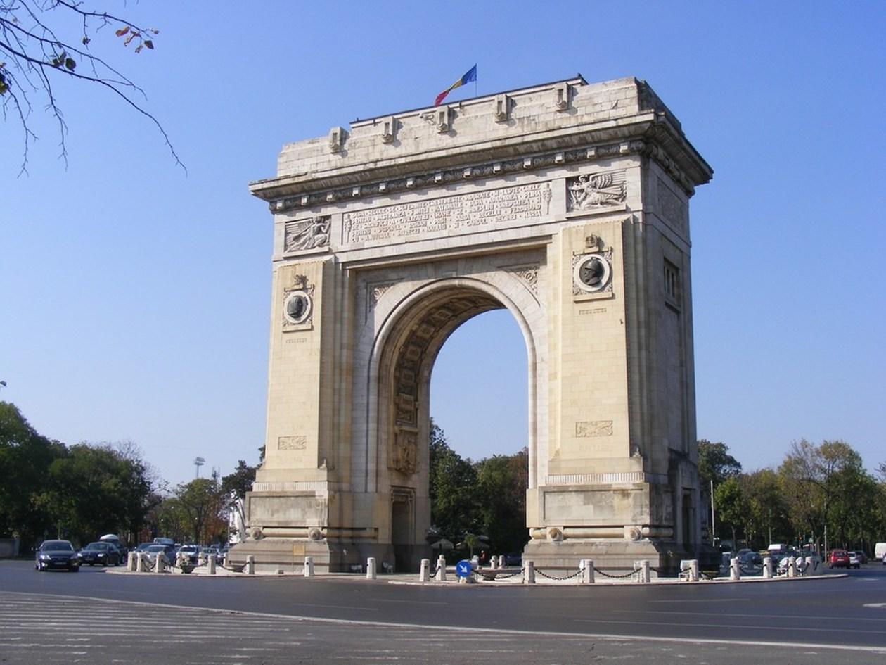 Arco Triunfo Bucarest Rumania