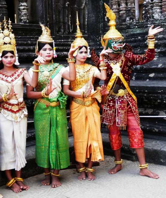 Bailarinas Camboya