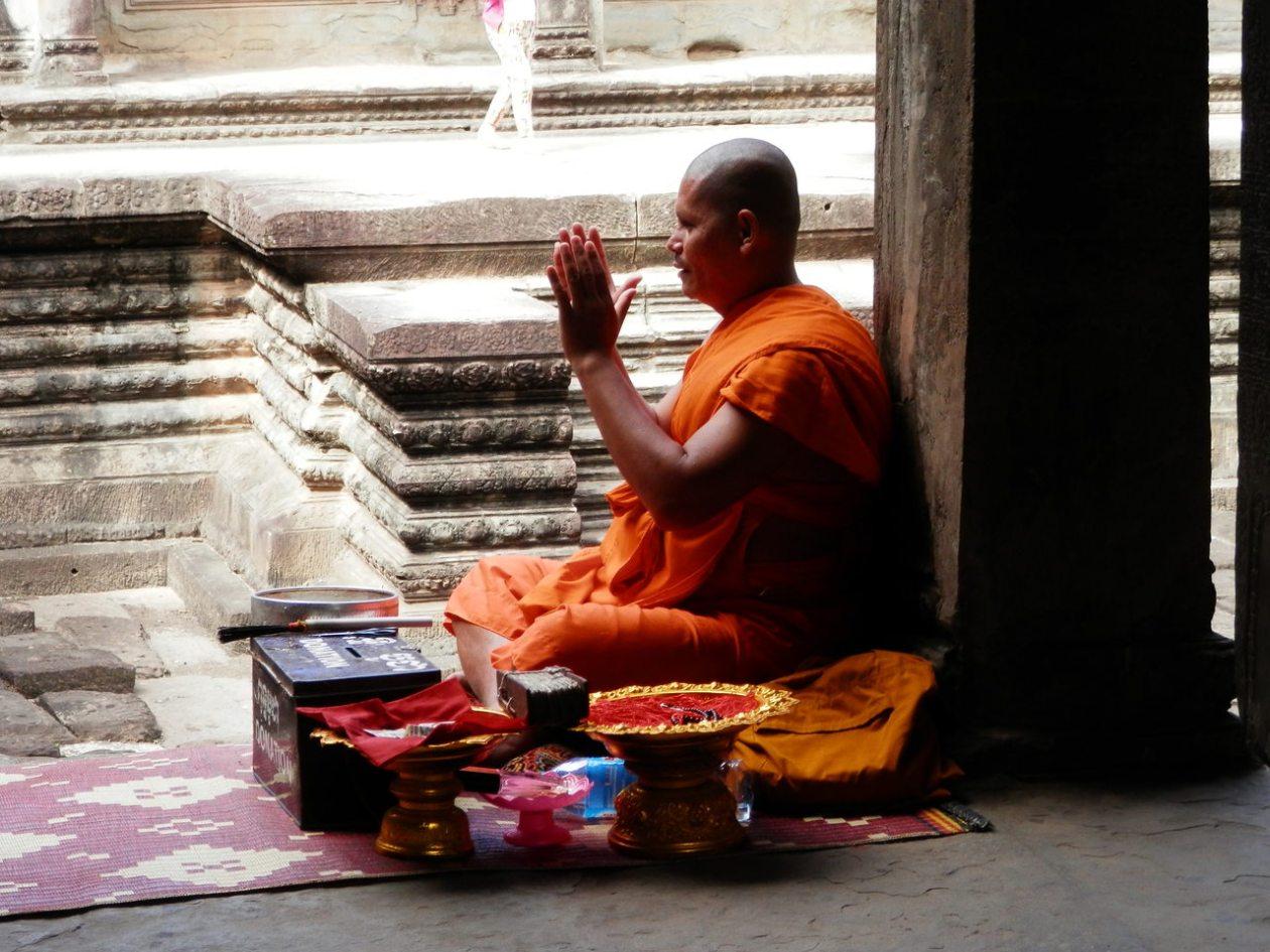 Monje Angkor Wat