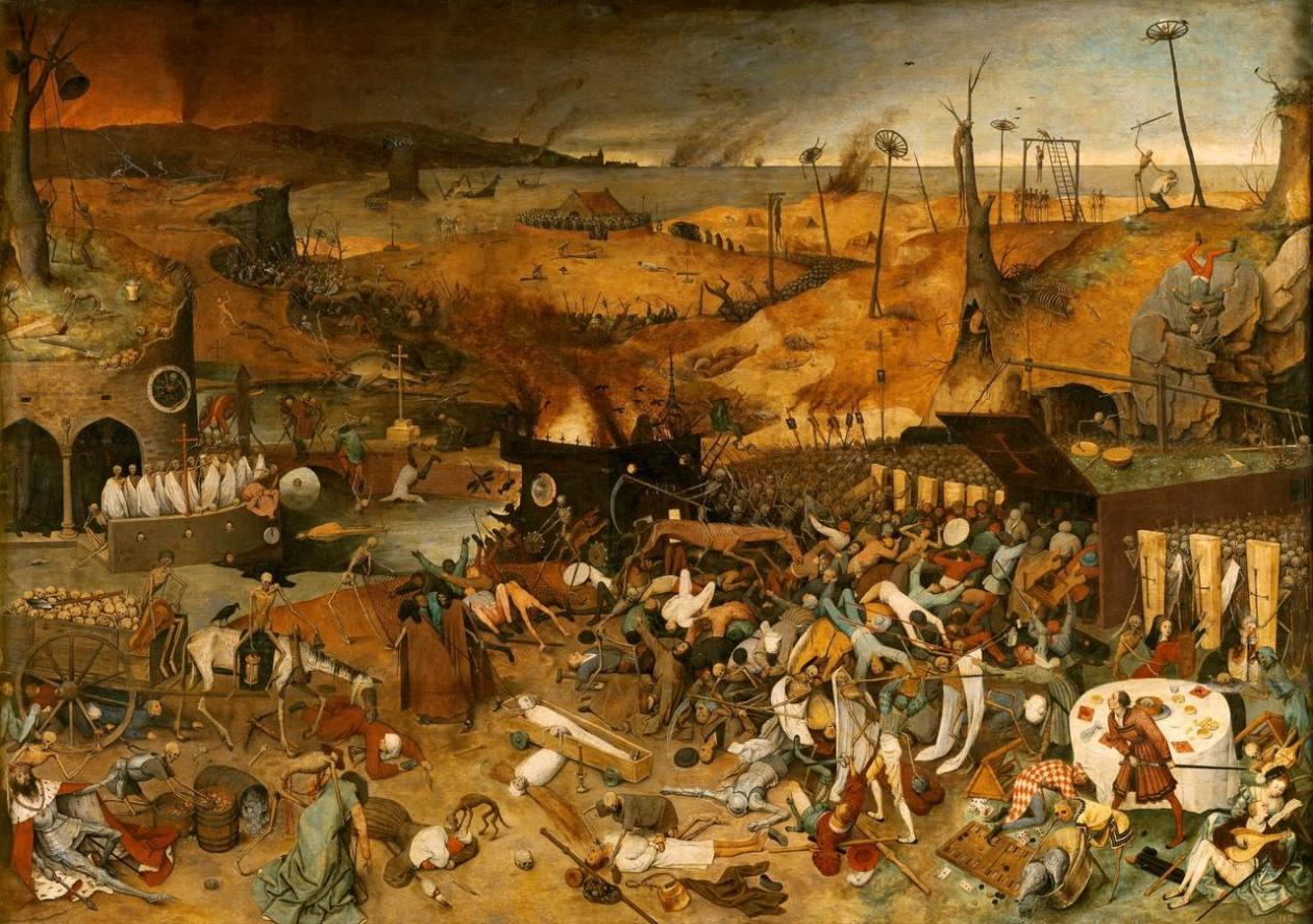 El triunfo de la muerte Bruegel