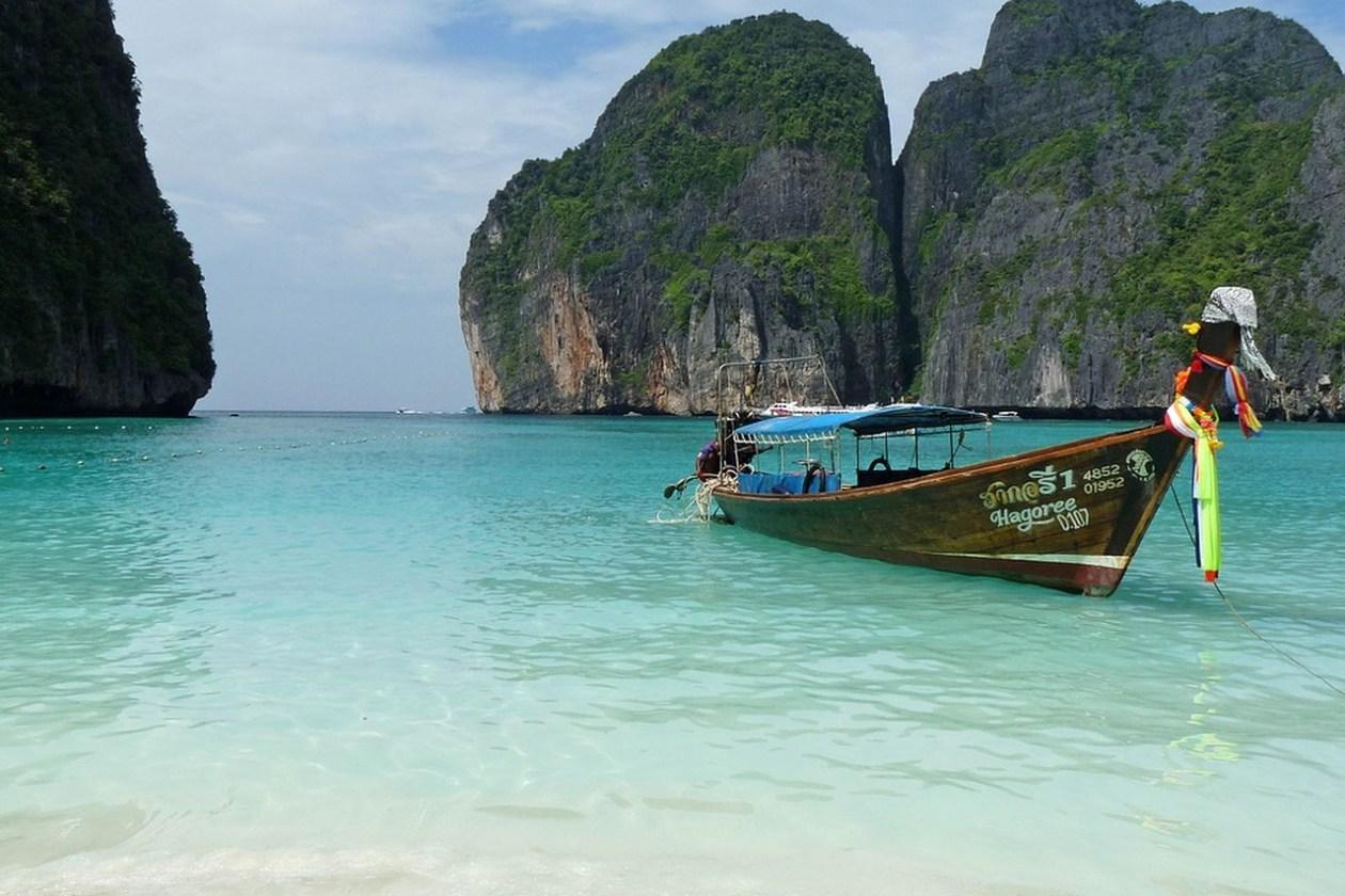 Maya Bai Islas Phi Phi Tailandia