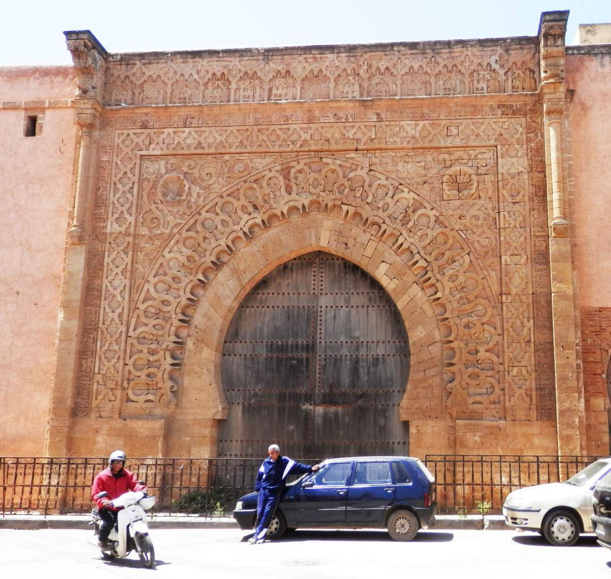 Puerta Bab Oudaia Rabat