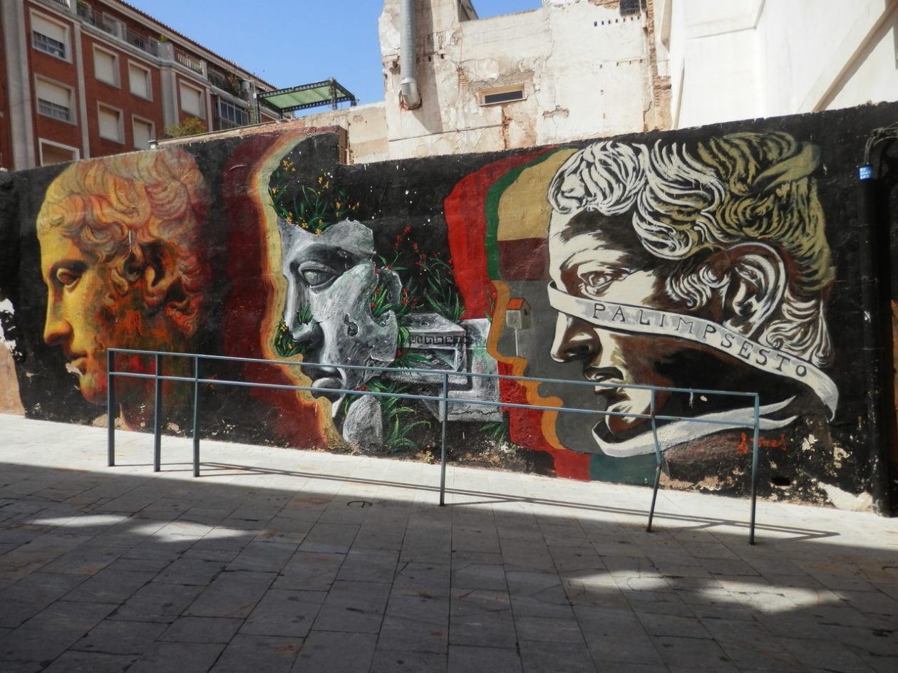 Murales Cartagena Murcia