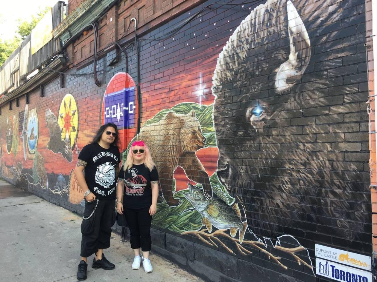 Toronto Mural Bufalo