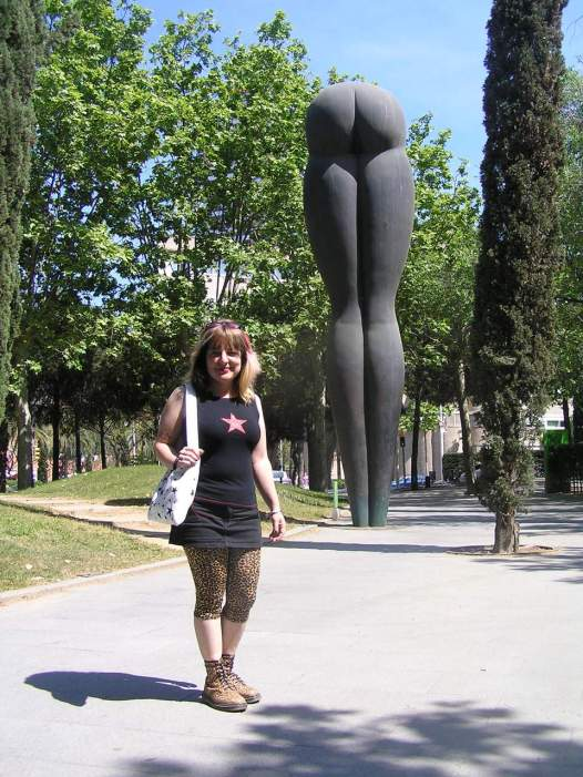 Monumento Culo Barcelona
