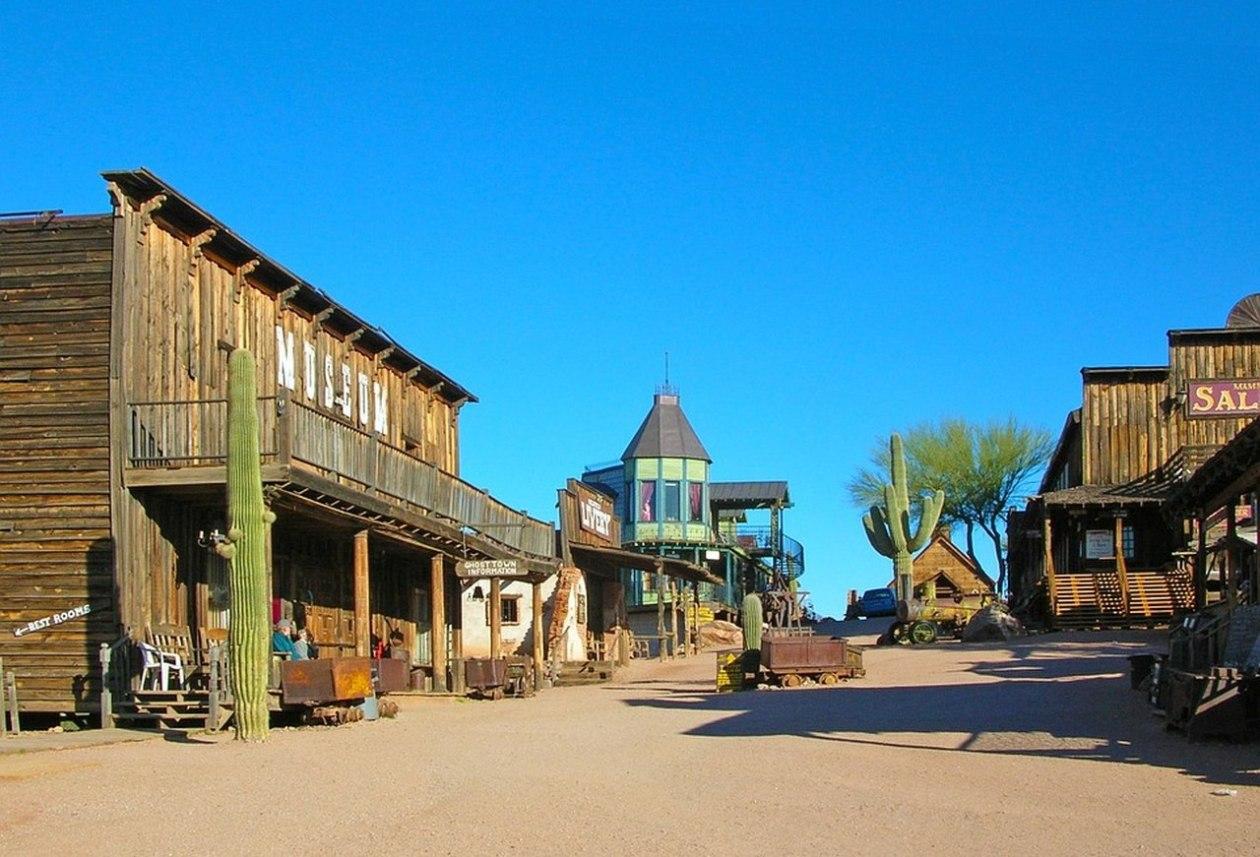Goldfield Arizona Pueblo Fantasma