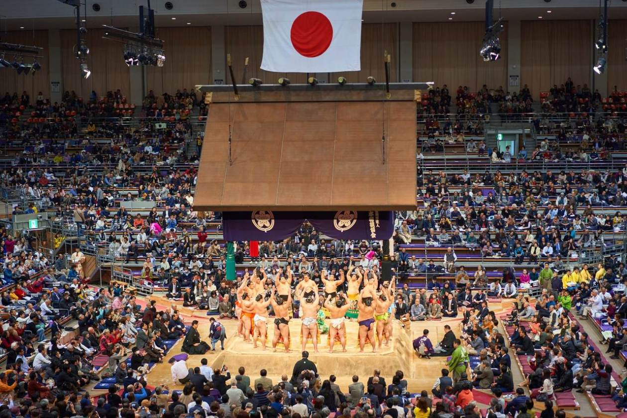 Tour sumo Japon