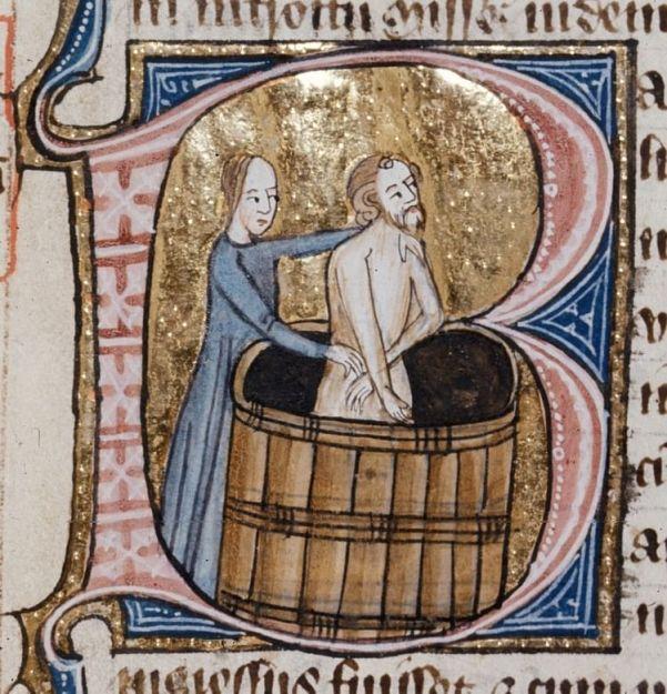 baño medievo
