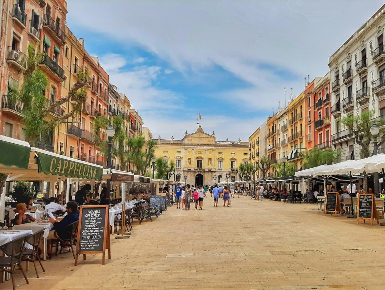 Plaza de la Font Tarragona