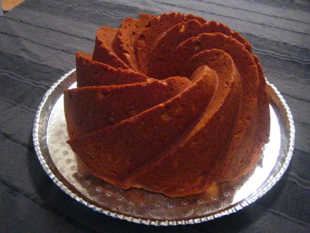 Sweet Potato Pound Cake (2/2)