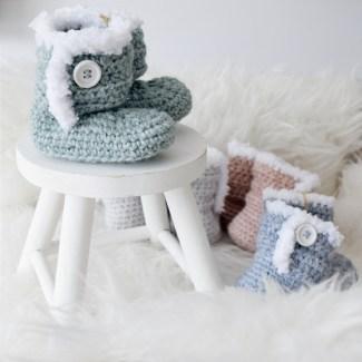 Baby slofjes - in diverse kleuren