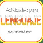 Lenguaje: Actividades para lenguaje