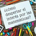 Matemáticas: ¿Cómo despertar el interés por las matemáticas con juegos?