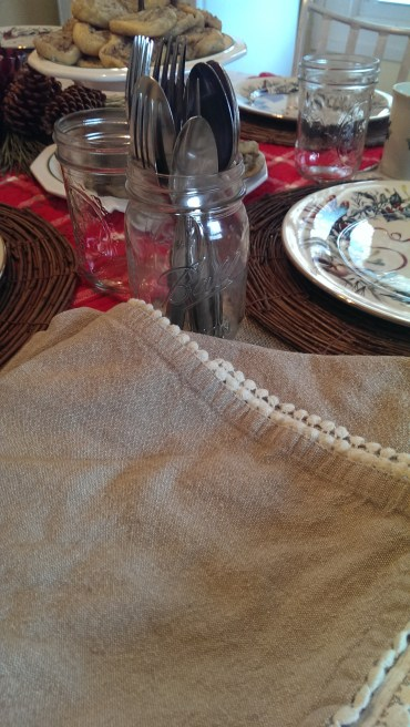 Napkins and Silverware