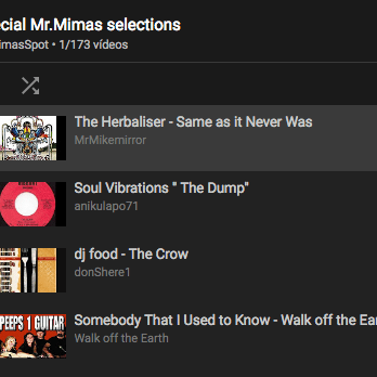 Youtube Mimas selections