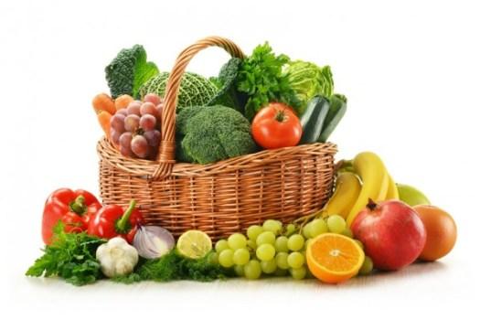 Introducción de frutas y verduras en la dieta