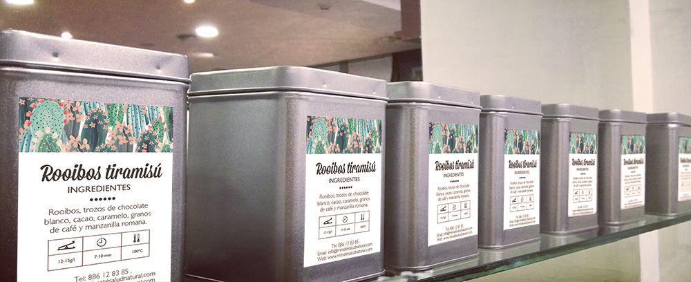 cajas tés y tisanas hostelería